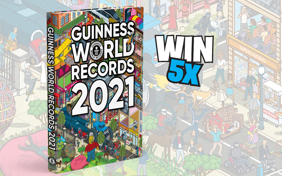 Guinness World Records boek 2021