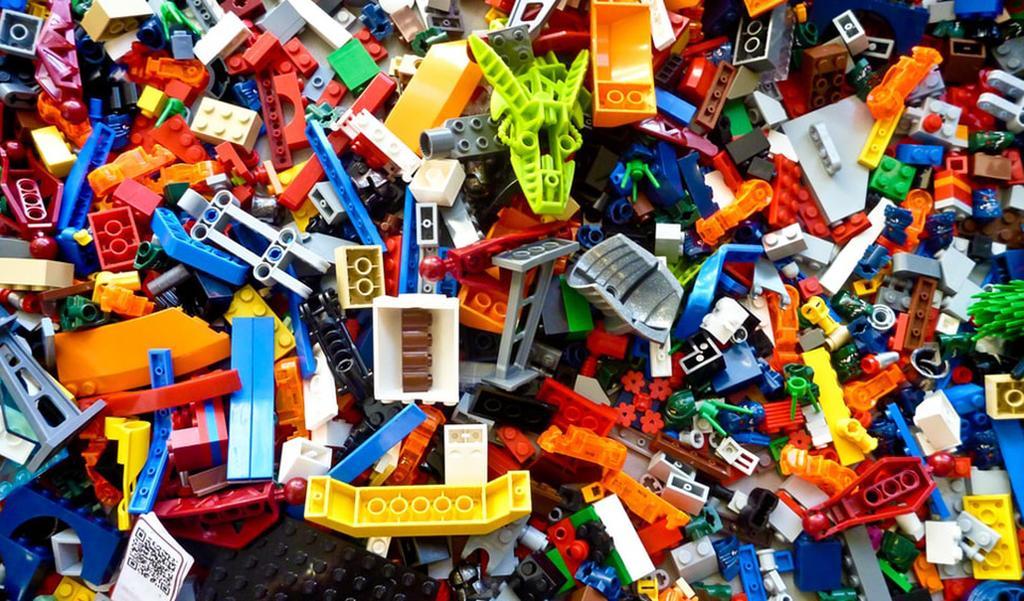 LEGO-record gemaakt met duizenden LEGO-steentjes