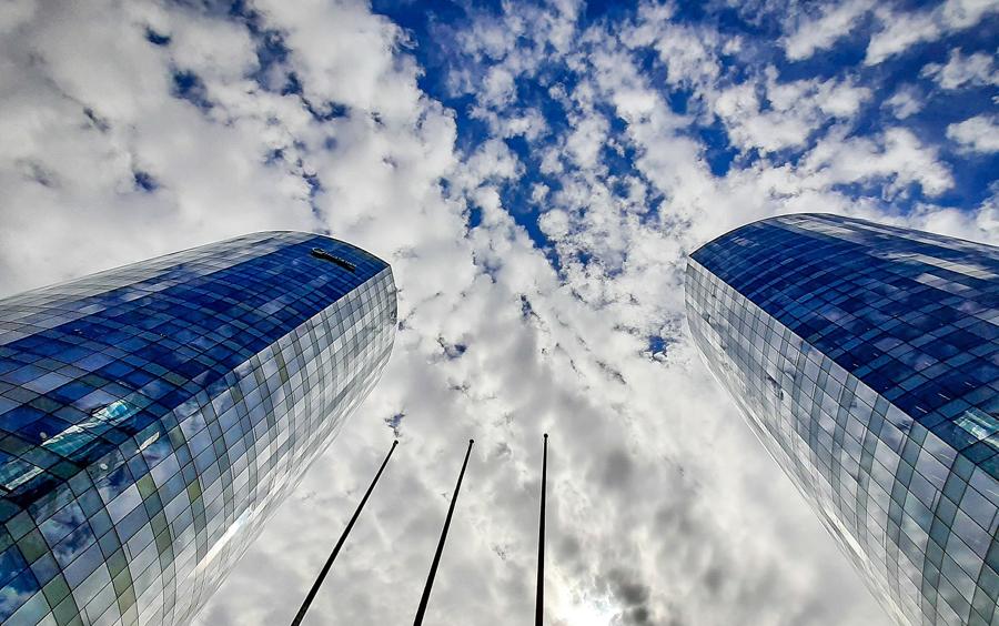 wolkenkrabbers