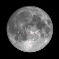 hoe is het weer op de maan