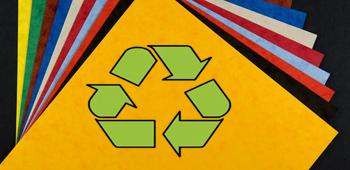 recycle papierkopie