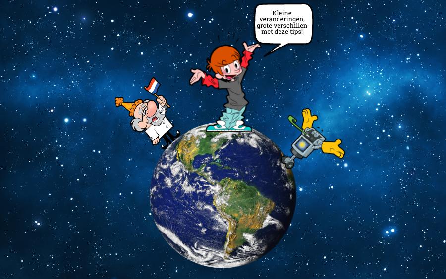 milieu tips voor kinderen