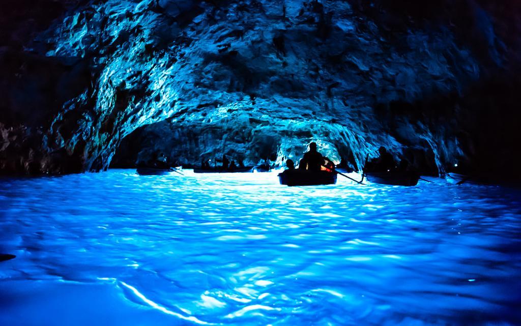Blauwe grotten