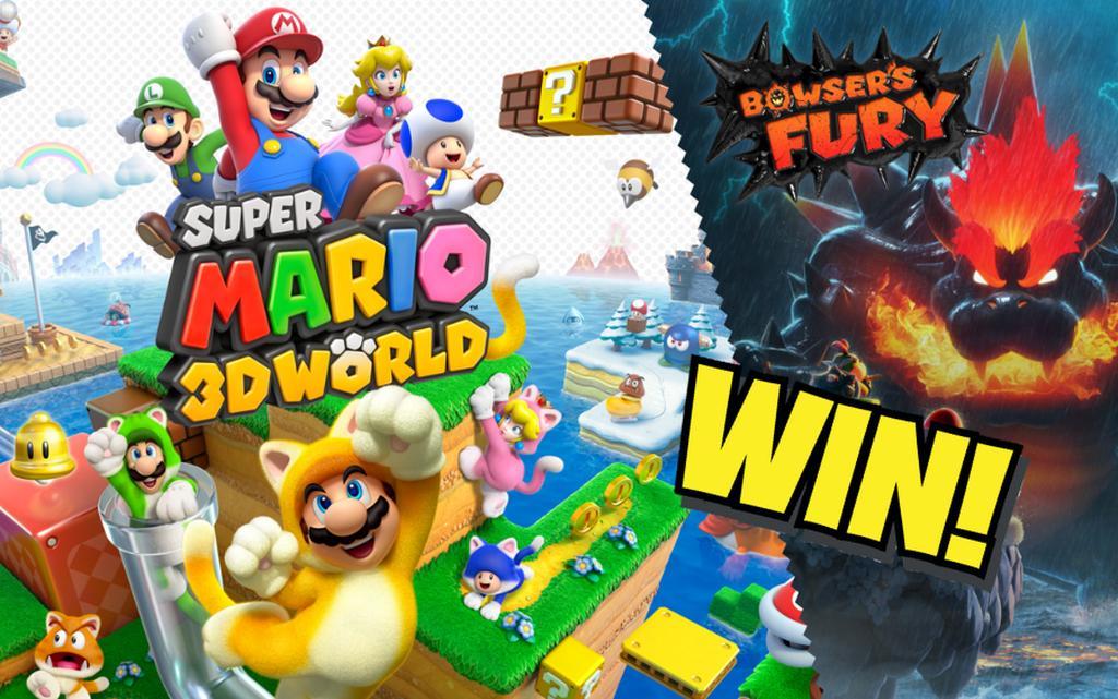 Super Mario 3D World win