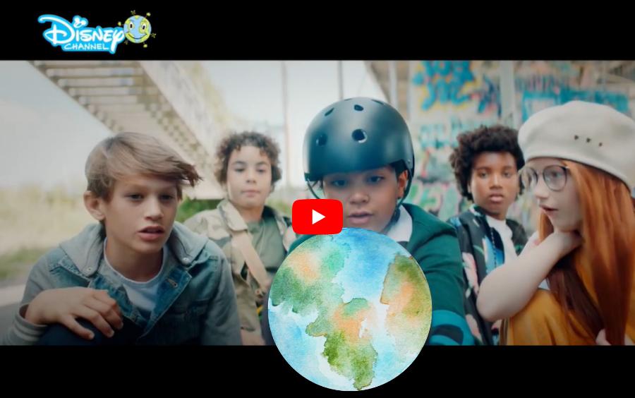 Disney Channel World Earth Day video